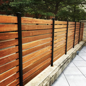 Custom-Ipe-Fence